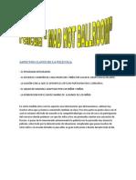ASPECTOS CLAVES DE LA PELÍCULA