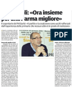 01/31/12-Articolo dopo primarie-Gazzetta di Parma