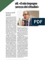 03/11/12-Proposte per la sicurezza di Vincenzo-Gazzetta di Parma