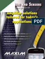 Amplifiers Sensors Maxim