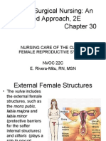 6685946 Nursing Care of the Client Female Reproductive System