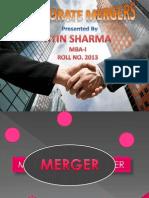 Corporate Merger Presentation