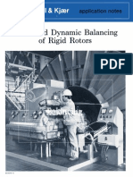 Static and Dynamic Balancing of Rigid Rotors