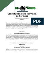 Constitucion de La Provincia de Formosa - Republica Argentina