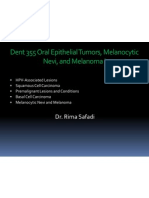 ALL Oral Epithelial Tumors I and II and III (slide 7+8+9)