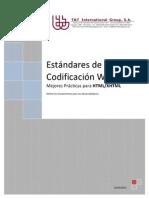 Documento de Estandares de Codificación en HTML