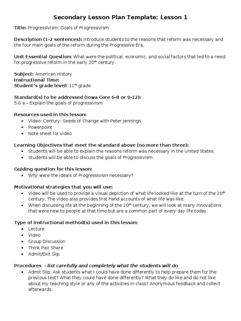 worksheet Progressive Era Worksheets progressive era and world war i lesson plans plan era