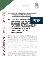 120314 NP- Rueda Escuela Charlie Rivel Coslada