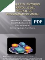 Manipular el entorno desarrollo del lenguaje de programación