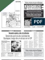 Versión impresa del periódico El mexiquense 14 marzo 2012
