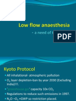 Low Flow Anaesthesia-AKA