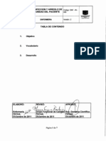 ENF-IN-026 Desinfeccion y arreglo de la unidad del paciente