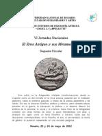 Jornadas CEFA - Segunda Circular