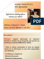 Referencias Bibliograficas Normas Da Abnt