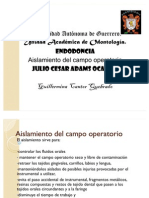 to Del Campo Opera to Rio Unidad 4 Guillermina Cantor Quebrado
