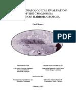 CSS Georgia Site Investigation Report