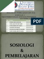 Sosiologi Dan Pembelajaran