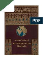 Almasy Az Ismeretlen Szahara ORC