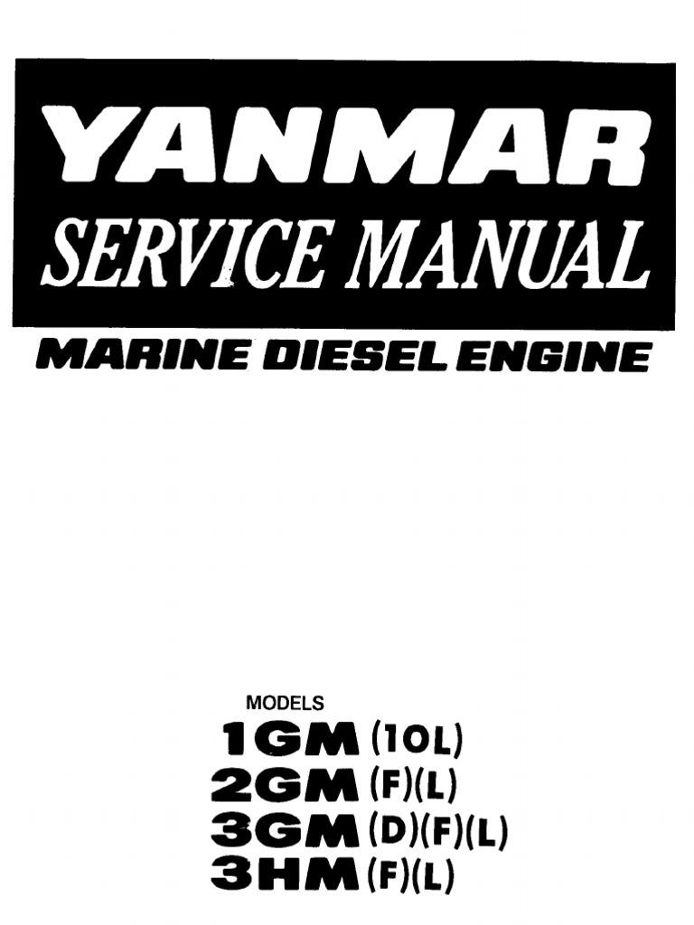 Yanmar 2gm 13 Hp Manual Owners Book Wiring Diagram F 14 Service 1gm 10l L 3gm D Rh Scribd Com Used