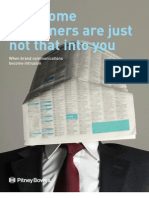 Why Some Customers Are Just Not That Into You - Pitney Bowes Article 3/12