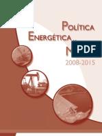 Politica Energetica 2008-2015 G.