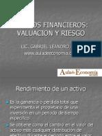 Valuacion de Activos Financieros