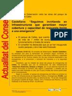 Actualitat de la Conselleria de Governació 13/14-03-2012