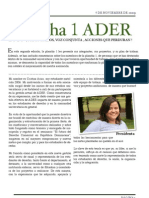 2da Ed Newsletter ADER 2009