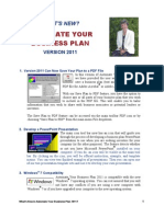 Automate Your Business Plan 2011