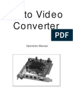 Cpt-380pci User Manual