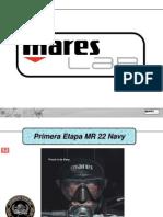 Mares MR22 Navy