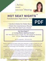 mar 28th hot seat flyer