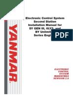 Installationshandbok Elektonik SY Gen.lll LY3 by 2 Styrplatser Rev2.0