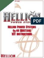 Hellion - Kit Turbo x Mustang GT 05-09