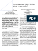 Fatigue Life Analysis of RIMS (Using FEA)