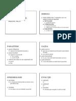 Parazitologie Medicala - Generalitati