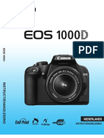 EOS1000d Manual