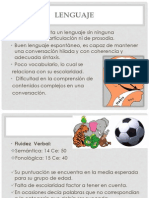 Caso Clinico Lenguaje