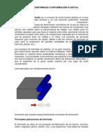 UNIDD 2 CONFORMADO O DEFORMACIÓN PLÁSTICA