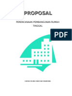 Contoh Proposal Pekerjaan Rumah