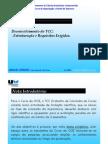 Requisitos Estruturação TCC OGE Ano 11-12