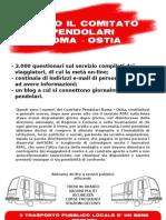 Volantino Comitato Pendolari Roma-Lido