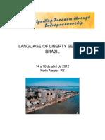 Language of Liberty Brazil 2012 Program