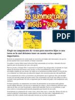 Campamentos de Ingles