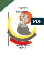 Poetas Populares Do Concelho de Beja 1987 - 1 a 154 - Boavista
