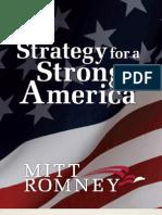 Romney Stronger America Booklet