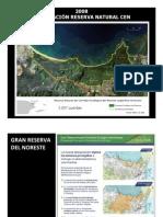 Mapa Corredor Ecológico del Noreste (CEN) 2008