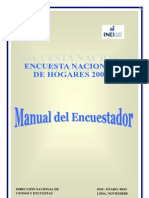 Manual Del or Enaho 2007