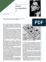 Jose Antonio Coderch, o Las Coincidencias Imposibles