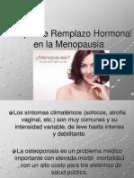 Terapia de Remplazo Hormonal
